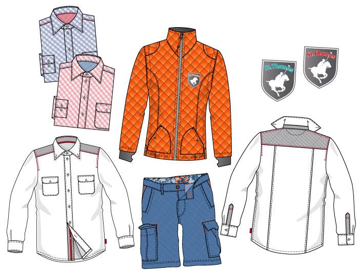 Mode- und Textildesign mit Photoshop und Illustrator