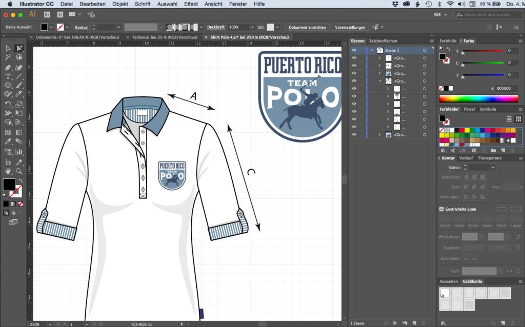 Illustrator Modedesign Styles