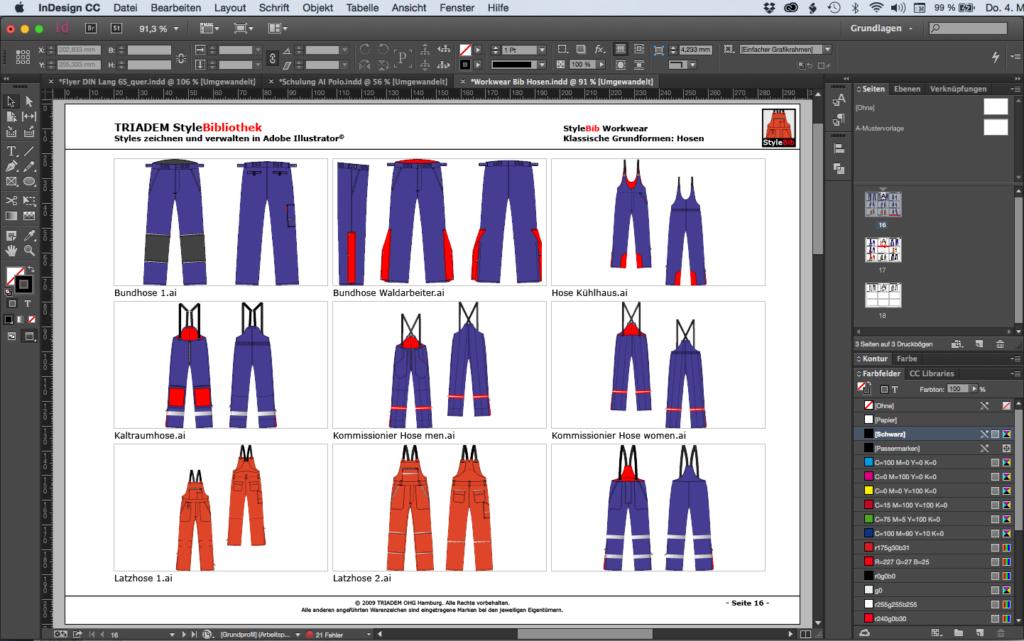 InDesign für Textil und Mode